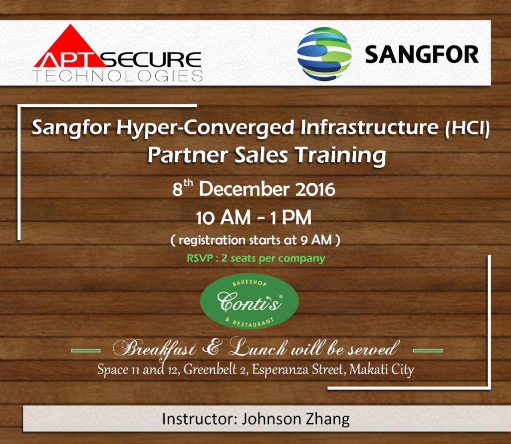 sangfor-hci-sales-training