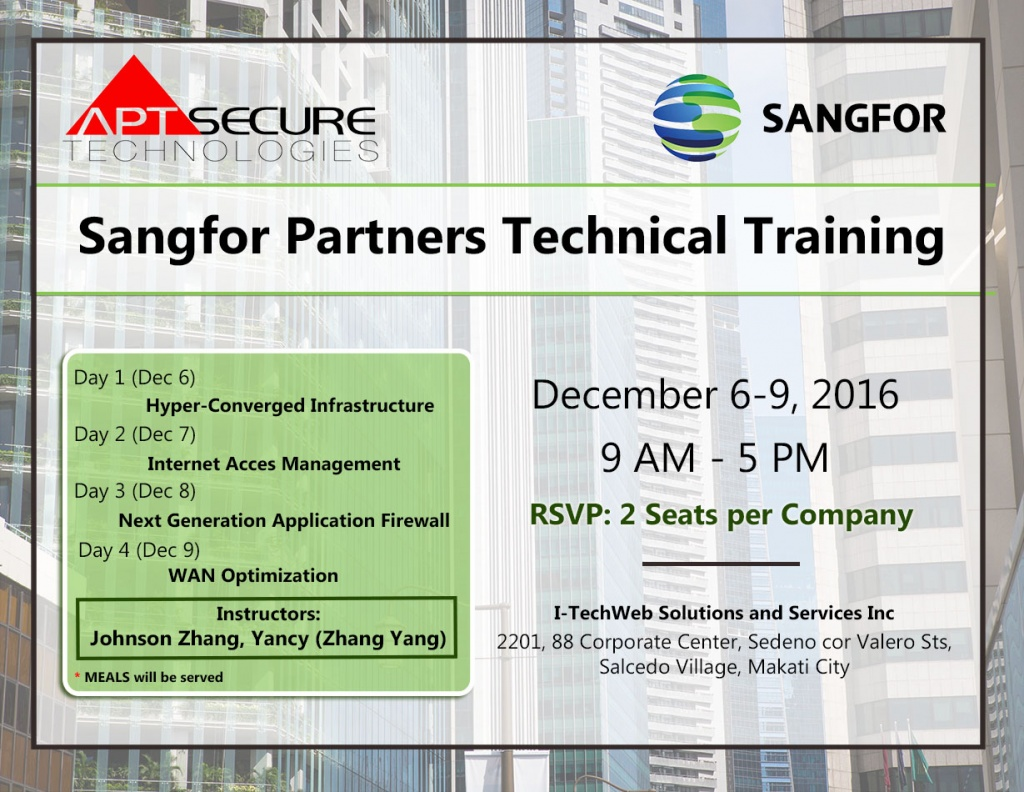 sangfor-training-reg