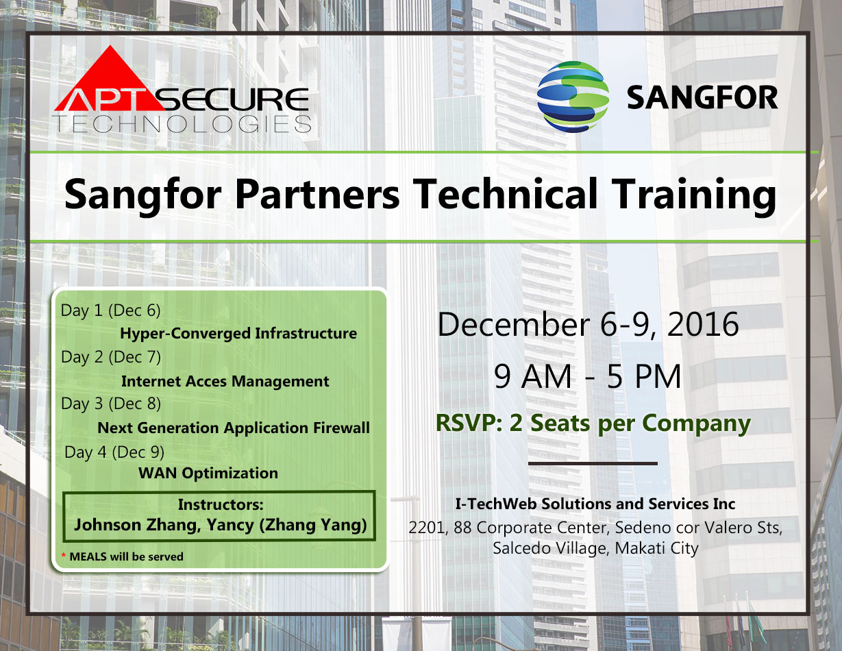 sangfor-training-reg