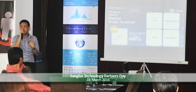Sangfor Technology Partners Day