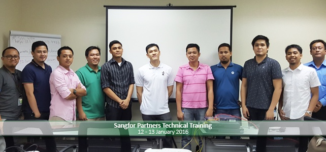 Sangfor Partners Technical Training