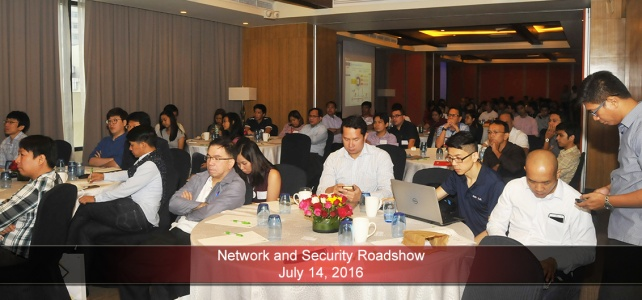 Network and Security Roadshow